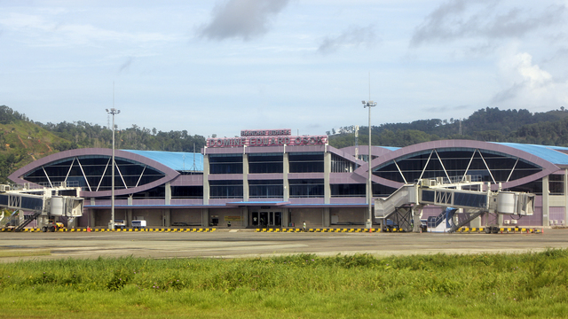 A view from Sorong Dominique Edward Osok Airport