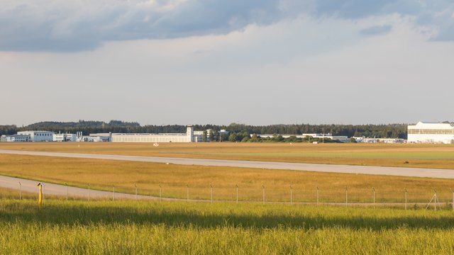 A view from Oberpfaffenhofen Airport