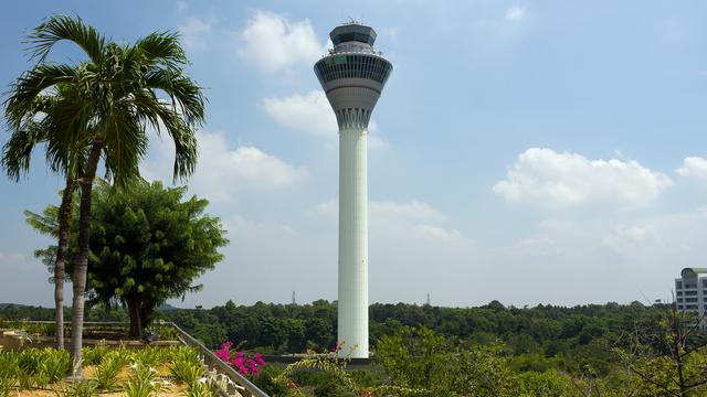 A view from Kuala Lumpur International Airport