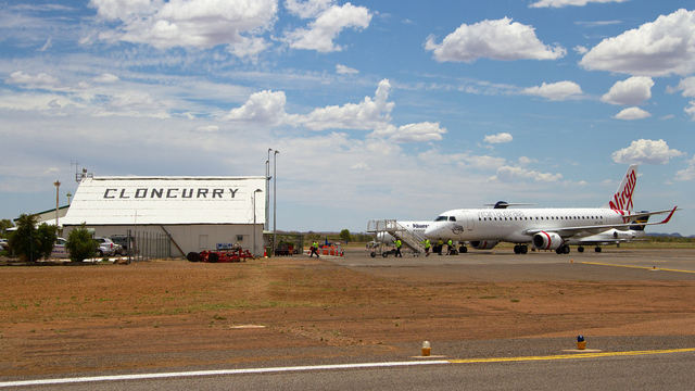 A view from Cloncurry Airport