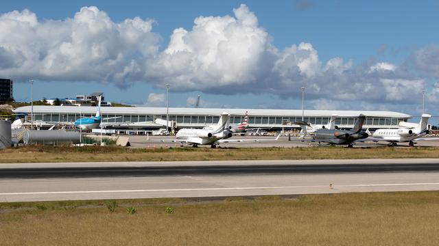 A view from Sint Maarten Princess Juliana International Airport
