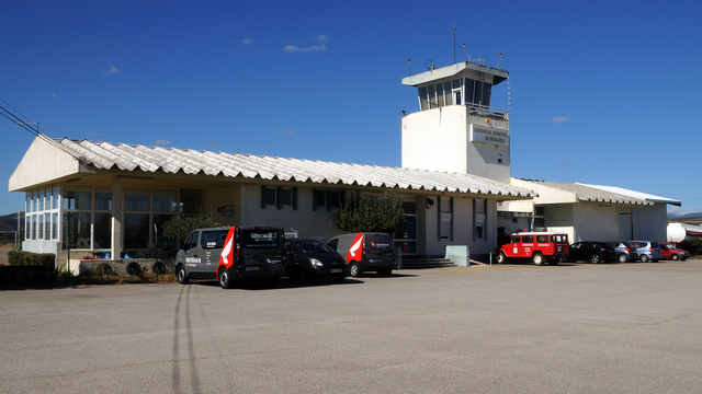 A view from Braganca Airport