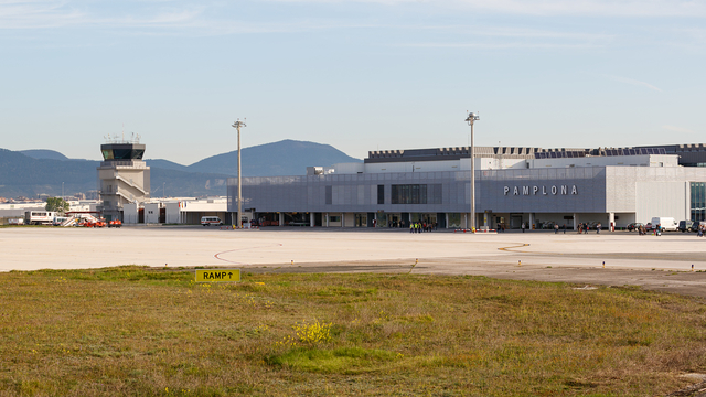 A view from Pamplona Airport