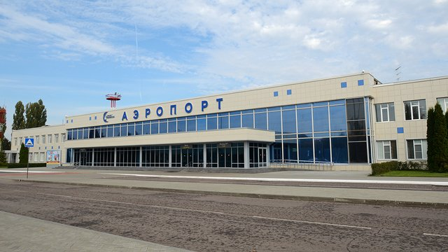 A view from Voronezh International Airport