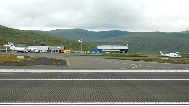 A view from Vagar Airport