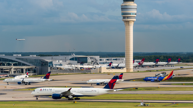 A view from Atlanta Hartsfield-Jackson International Airport
