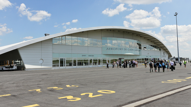 A view from Caen Carpiquet Airport