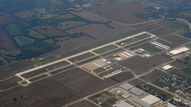 A view from McKinney National Airport