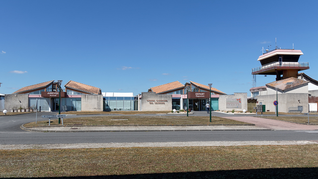 A view from Angouleme Cognac International Airport