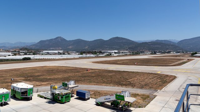 A view from Gazipasa Airport