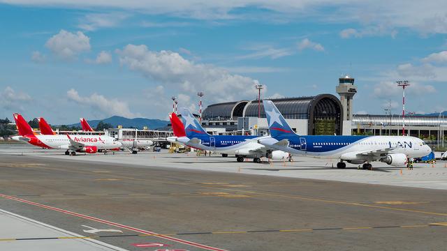 A view from Medellin Jose Maria Cordova International Airport