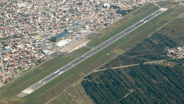A view from Navegantes Victor Konder International Airport