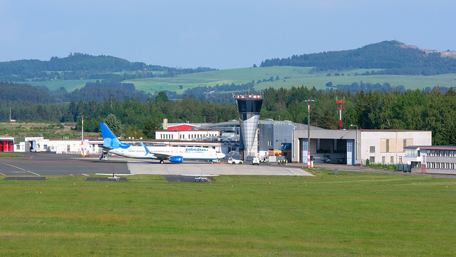 A view from Karlovy Vary Airport
