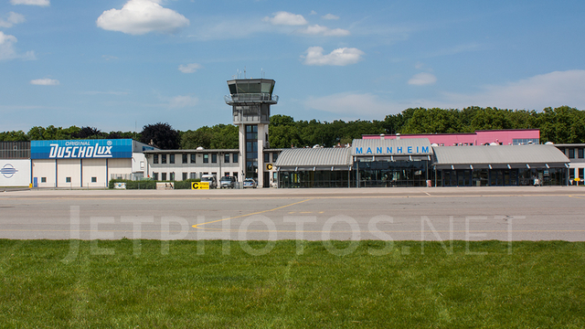 A view from Mannheim City Airport