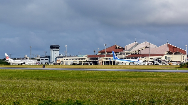 A view from Miyako Airport