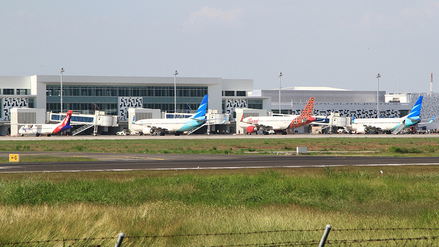 A view from Semarang Achmad Yani International Airport