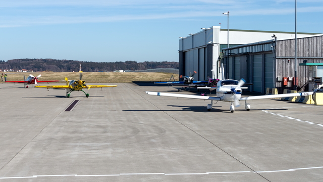 A view from Memmingen Airport
