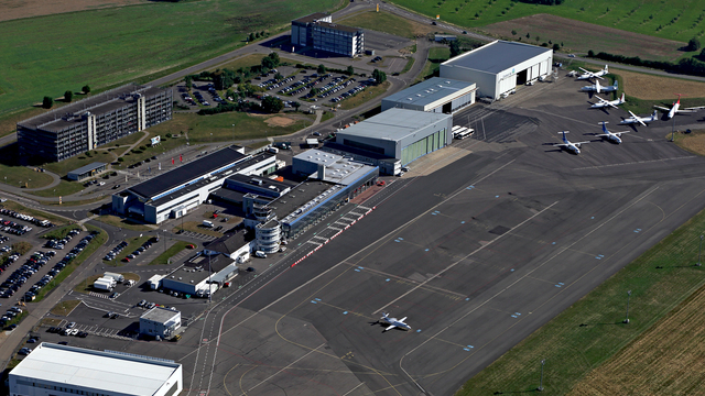 A view from Saarbrucken Airport