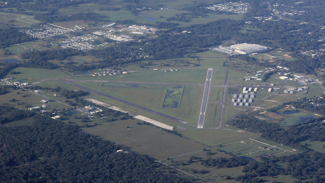 A view from Zephyrhills Municipal Airport