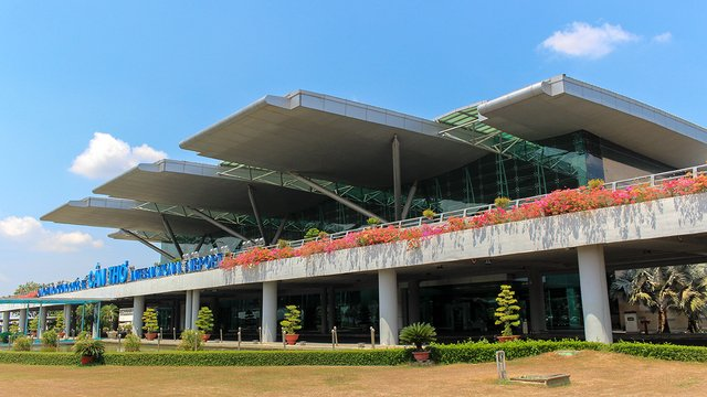 A view from Can Tho International Airport