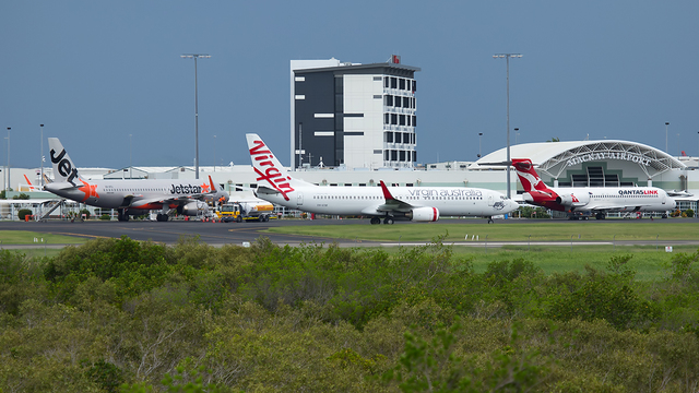 A view from Mackay Airport