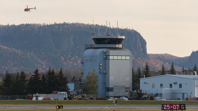 A view from Thunder Bay International Airport
