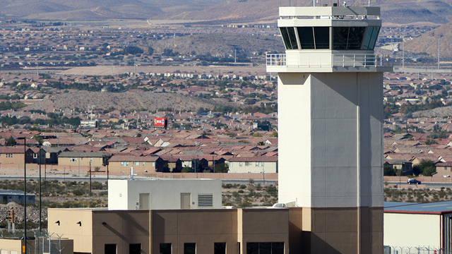 A view from Las Vegas Henderson Executive Airport