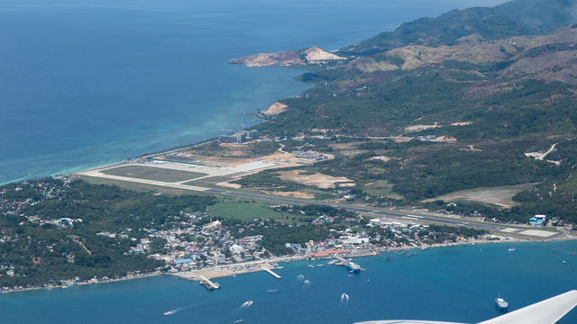A view from Caticlan Boracay Airport