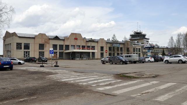 A view from Ukhta Airport