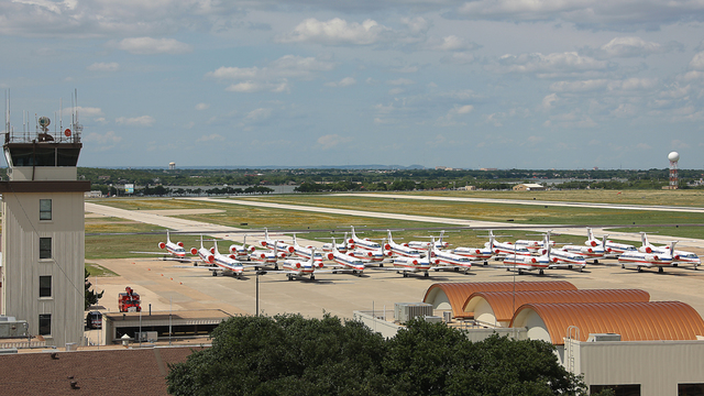 A view from San Angelo Regional Airport