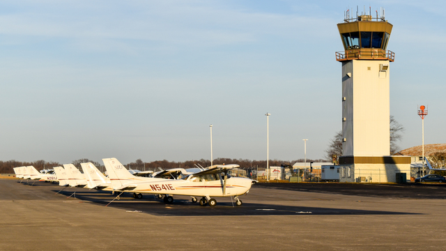 A view from Carbondale Murphysboro Southern Illinois Airport