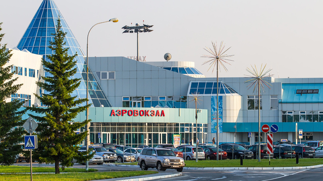 A view from Khanty-Mansiysk Airport