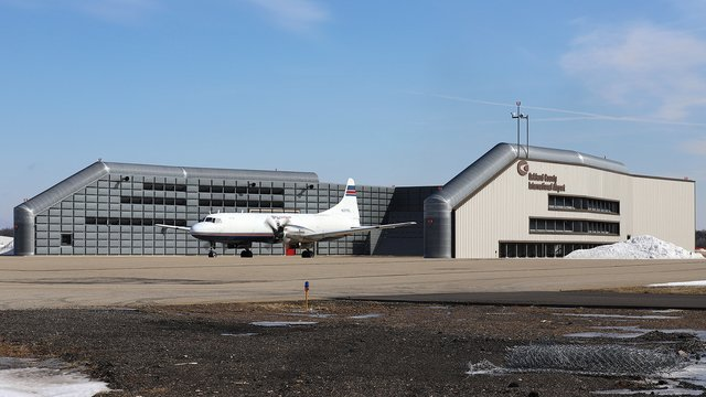 A view from Oakland County International Airport