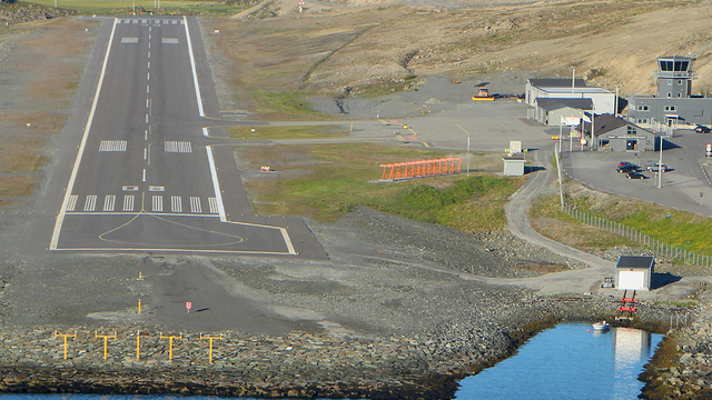 A view from Honningsvag Valan Airport