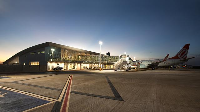 A view from Cascavel Adalberto Mendes da Silva Airport