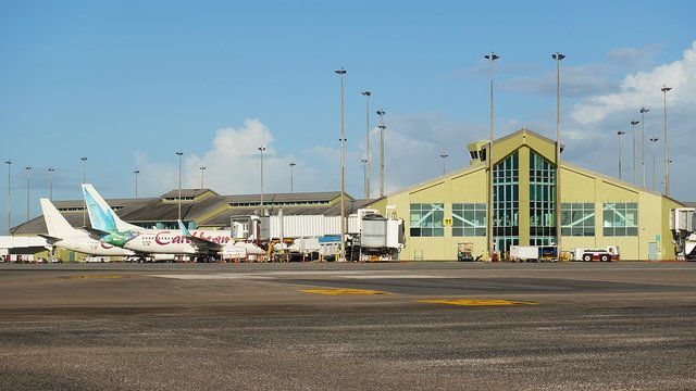 A view from Port of Spain Piarco International Airport