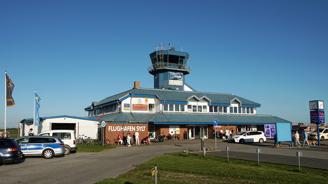 A view from Sylt Airport