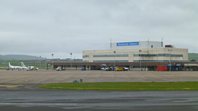 A view from Sumburgh Airport