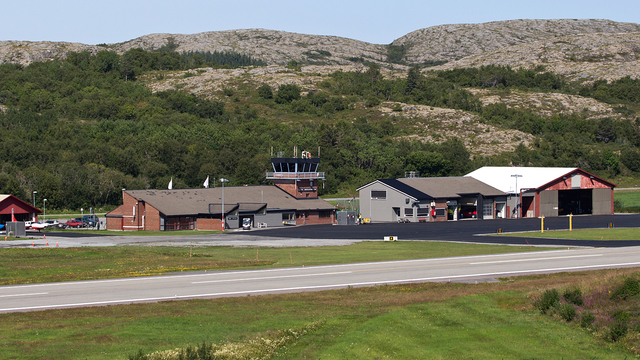 A view from Rorvik Airport