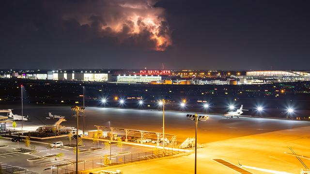 A view from Atlanta Hartsfield-Jackson International Airport