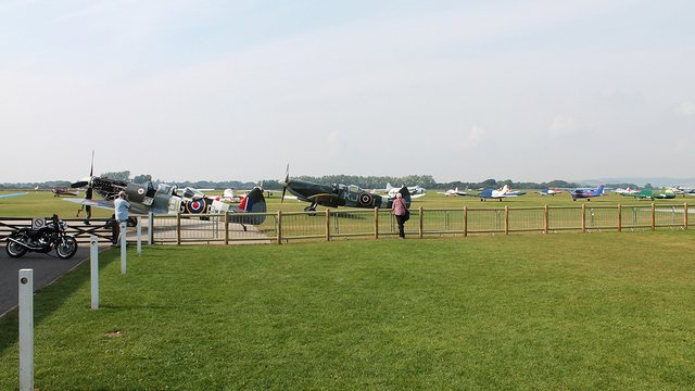 A view from Chichester Goodwood Airport