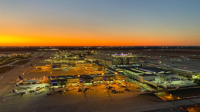A view from Houston George Bush Intercontinental Airport