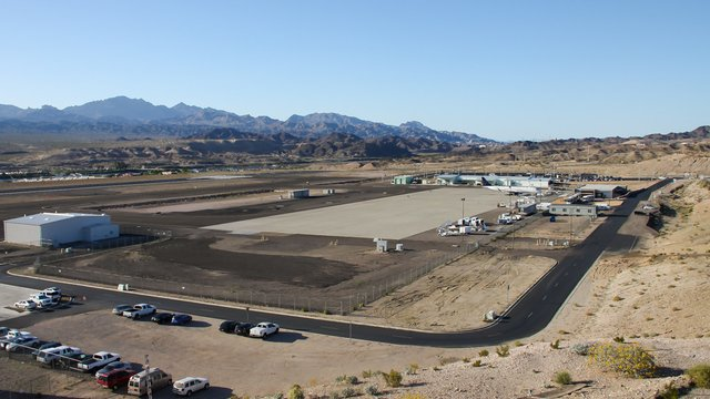 A view from Bullhead International Airport