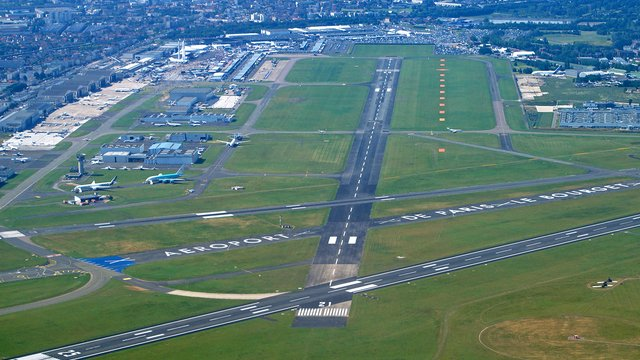 A view from Paris Le Bourget Airport