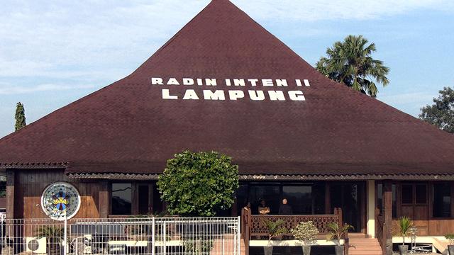 A view from Bandar Lampung Radin Inten II Airport