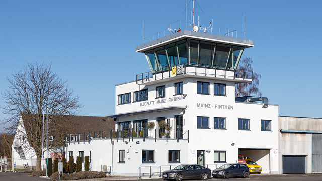 A view from Mainz Finthen Airport
