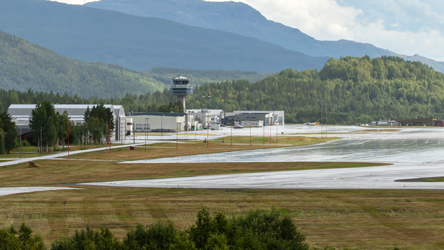 A view from Bardufoss Airport