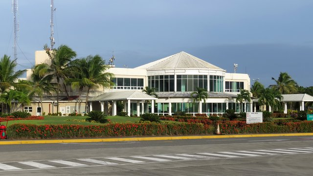 A view from Santo Domingo La Isabela International Airport