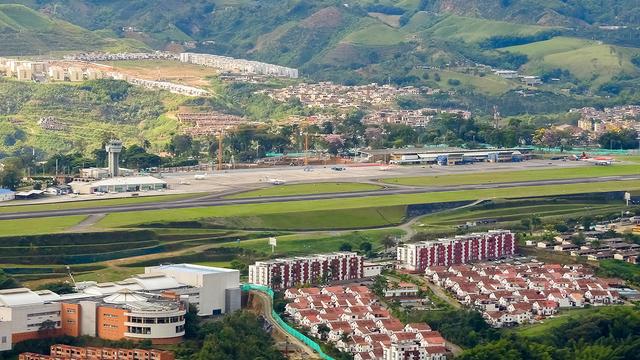 A view from Pereira Matecana International Airport