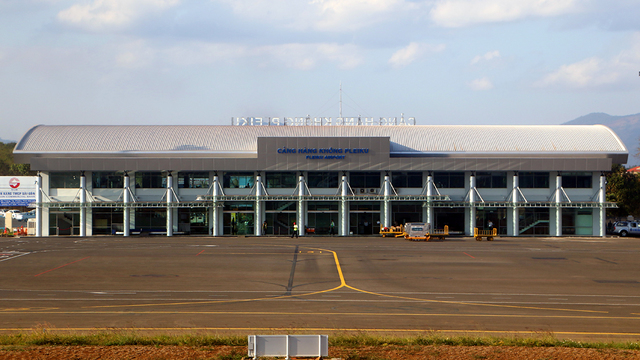 A view from Pleiku Airport